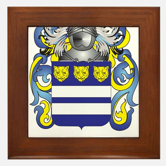 Wright Family Crest (Coat of Arms) Framed Tile