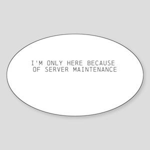 Servers down Sticker