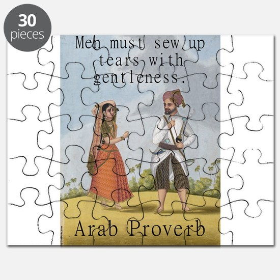 Men Must Sew Up Tears - Arab Puzzle
