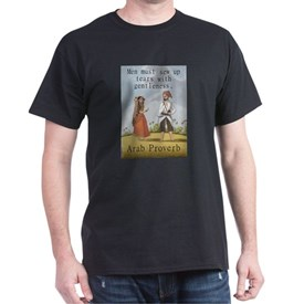Men Must Sew Up Tears - Arab T-Shirt