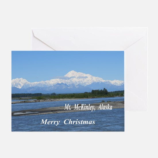 Mt. McKinley Alaska Greeting Cards