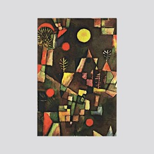 Paul Klee art, Full Moon Rectangle Magnet