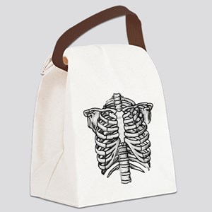 SkeleChest Canvas Lunch Bag
