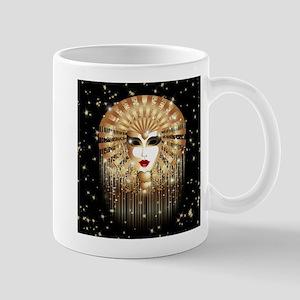 Golden Venice Carnival Mask Mugs