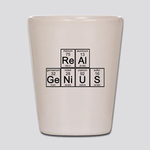 Elementary Real Genius Shot Glass