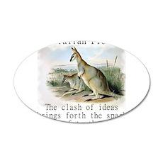 The Clash Of Ideas - Australian Wall Decal