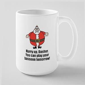 Hurry up, Dasher - bassoon Mugs