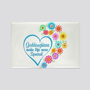 Goddaughter Special Heart Magnets