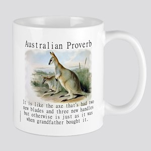 It Is Like The Axe - Australian 11 oz Ceramic Mug