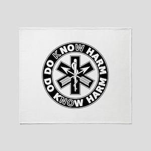 Do Know Harm - SF Throw Blanket