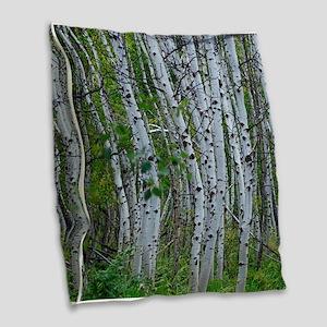 Aspen grove Burlap Throw Pillow