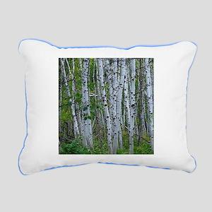 Aspen grove Rectangular Canvas Pillow