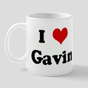 I Love Gavin Mug