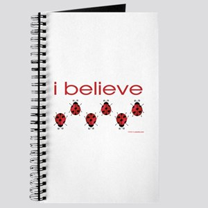I believe in ladybugs Journal