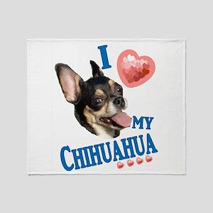 chichihua3 Throw Blanket