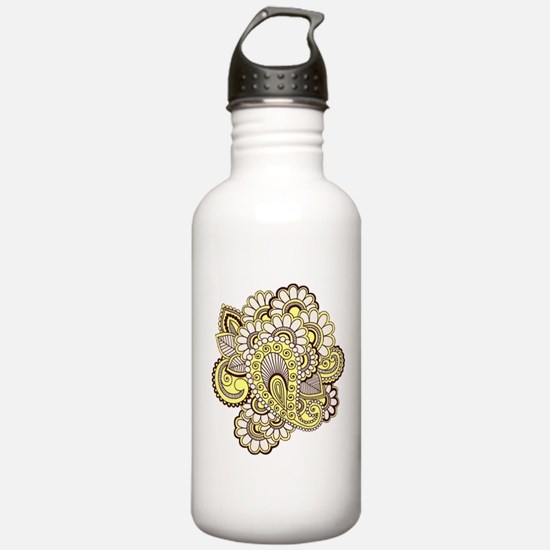 Creamy Henna Water Bottle