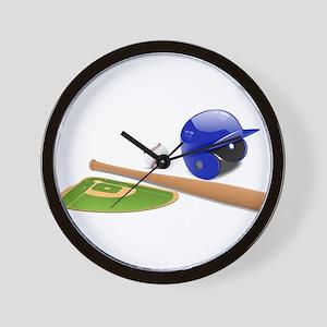 Baseball, Sports, Athlete Wall Clock