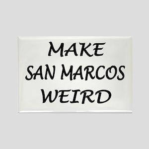 Original San Marcos Rectangle Magnet