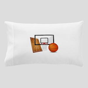 Basketball, Sports, Athlete Pillow Case