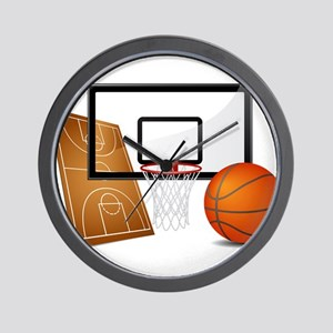 Basketball, Sports, Athlete Wall Clock