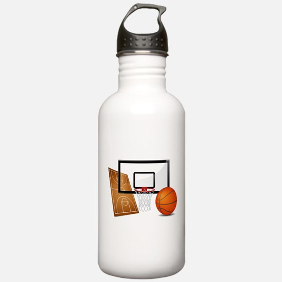 Basketball, Sports, Athlete Water Bottle