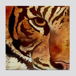 Wild Tiger Tile Coaster