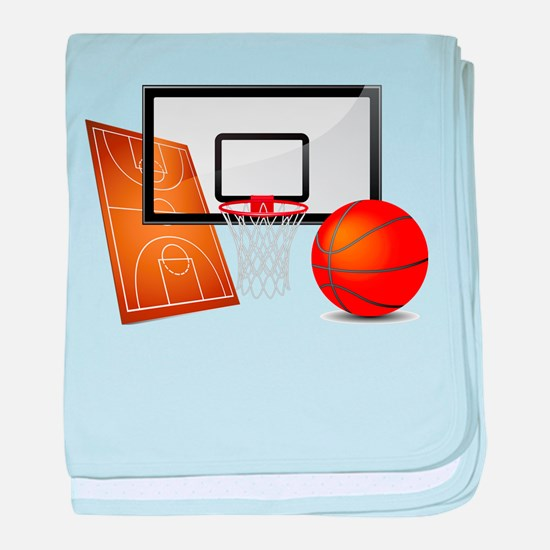 Basketball, Sports, Athlete baby blanket