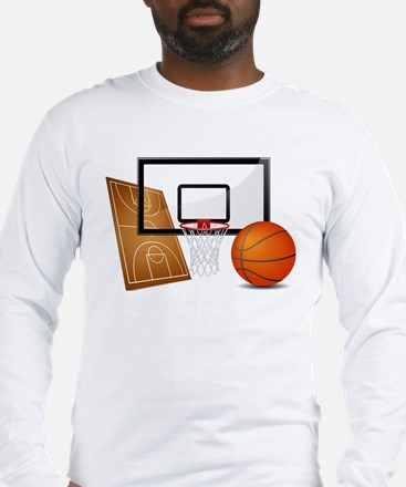 Basketball, Sports, Athlete Long Sleeve T-Shirt