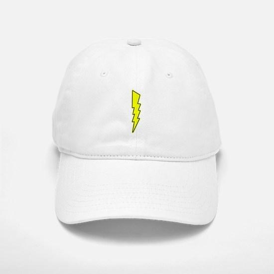 Bolt, Lightning, Electric Baseball Baseball Baseball Cap