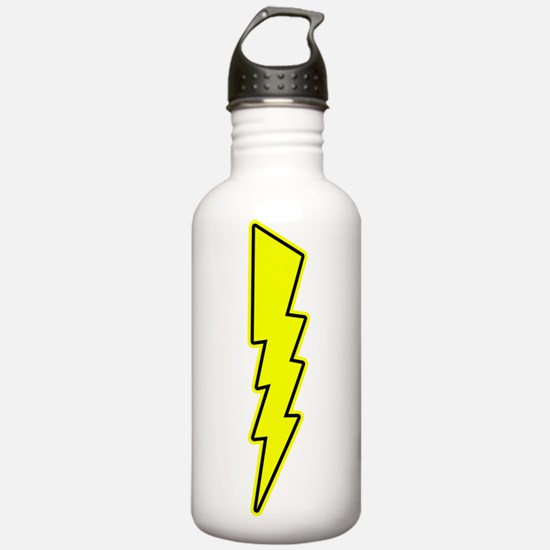 Bolt, Lightning, Electric Water Bottle