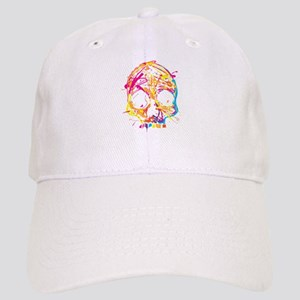 Skull, Paint, Art, Cool Baseball Cap