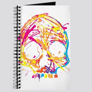Skull, Paint, Art, Cool Journal