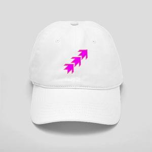 Pink Arrows Baseball Cap
