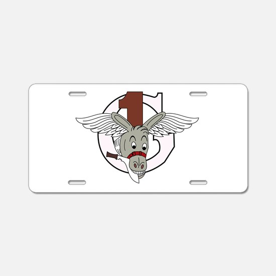 1st Air Commando Group Aluminum License Plate