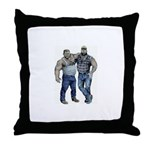 Boston Bears Throw Pillow