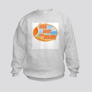 Livin' the Dream 3 Kids Sweatshirt
