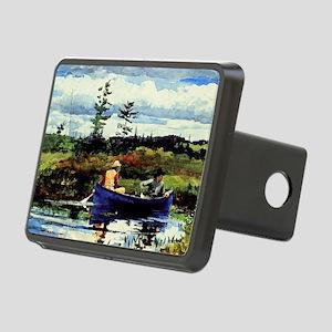 Winslow Homer - The Blue B Rectangular Hitch Cover