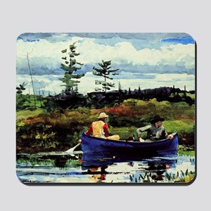 Winslow Homer - The Blue Boat Mousepad