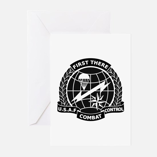 Combat Controller B-W Greeting Cards (Pk of 10)