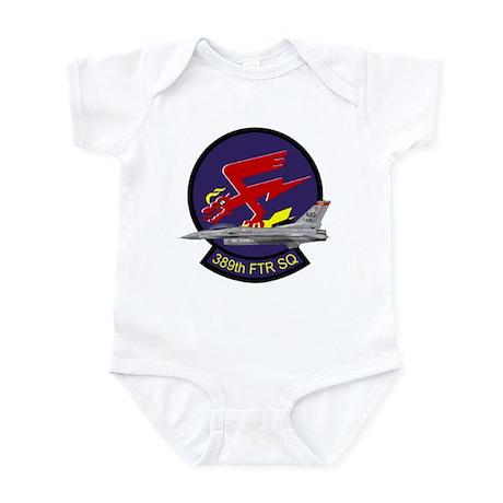 F-16 389th Fighter SQ Infant Bodysuit