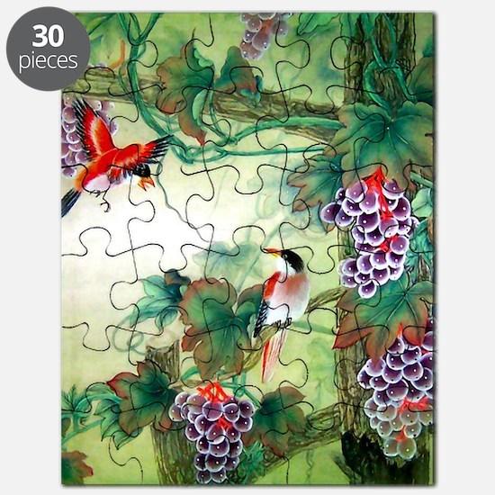 Cute Pretty birds Puzzle
