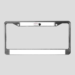 Bowling, Ball, Pins License Plate Frame