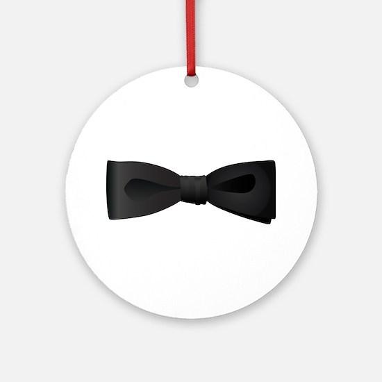 Bowtie Ornament (Round)