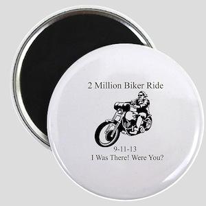 2 Million Bikers Magnet