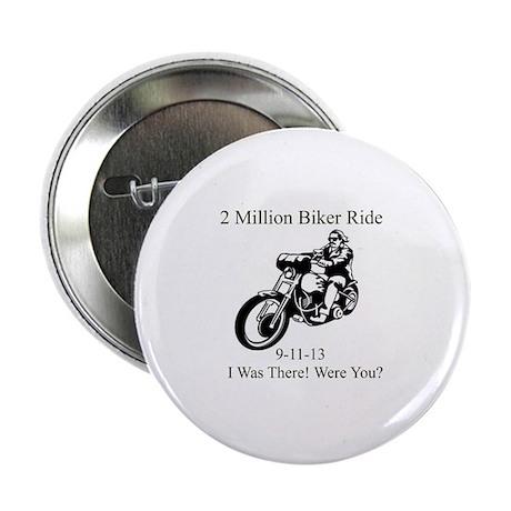 """2 Million Bikers 2.25"""" Button (100 pack)"""