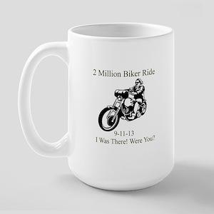 2 Million Bikers Large Mug