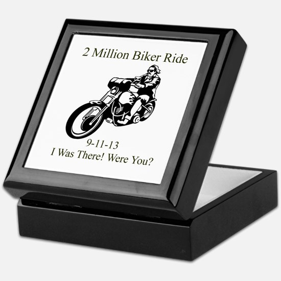 2 Million Bikers Keepsake Box