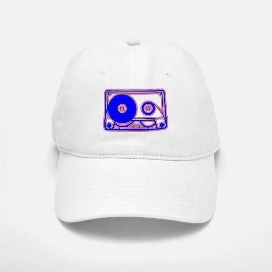 Cassette Tape, 80s, Vintage, Music Baseball Baseball Baseball Cap