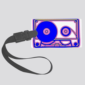 Cassette Tape, 80s, Vintage, Music Luggage Tag
