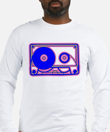 Cassette Tape, 80s, Vintage, Music Long Sleeve T-S